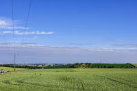 Mansfelder Land typische Landschaften