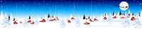 Little village on Christmas Eve 2