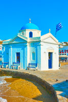Agios Nikolaos Church in Mykonos