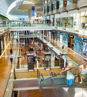 Marina Bay shopping mall, Singapore