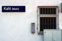 Bahnhofsgebäude Stadt Kahl