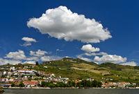 Pinhao am Douro Fluss, Pinhao, Douro Tal, Portugal m