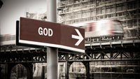 Street Sign to God