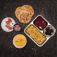 Vegetarian food set
