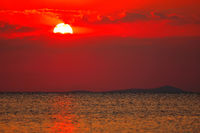 Sonnenuntergang am Malawisee, Cape Mc Clear, Malawi | Sunset at Lake Malawi, Cape Mc Clear, Malawi