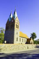Dorfkirche Willmersdorf bei Werneuchen, Brandenburg, Deutschland