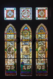 Stained glass windows - Mildura