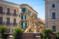 Piazza Archimede (Archimede Square) in Syracuse