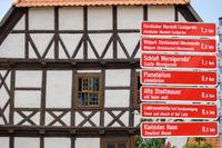touristisches Leitsystem Stadt Wernigerode Harz