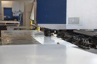 Industrial metalworking machine