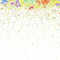 Colored Confetti Pattern
