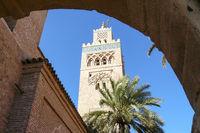 The Kutubiyya Mosque Marrakech Morocco