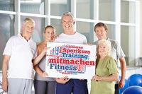 Mitmachen im Fitnesscenter