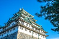 Main keep of Nagoya Castle in Nagoya, Japan