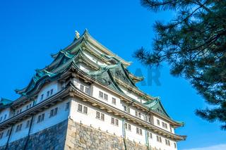Main keep of Nagoya Castle in Nagoya, Japan