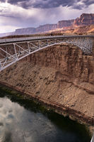 Bridge Over the Colorado River at the Navajo Bridge at Marble Canyon