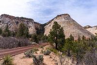 Checkerboard Mesa at Zion national park