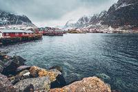 A village on Lofoten Islands, Norway