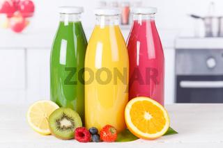 Saft Smoothie Smoothies Flasche Küche Orangensaft Fruchtsaft Frucht Früchte