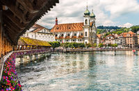 Historic city center of Lucerne