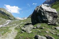 Wanderweg Richtung Lenkjöchlhütte, Tauferer Ahrntal, Südtirol