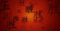 Success Chinese Symbol Background