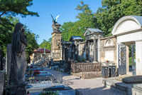 Old historic cemetry in Prague