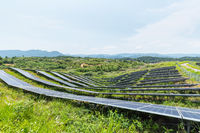 solar energy in mountainous area