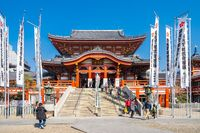 Osu Kannon Temple in Nagoya city, Japan