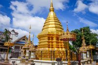 Wat Chomphu temple, Chiang Mai, Thailand