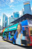 Hop on hop off bus Singapore