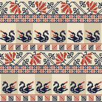 Palestinian embroidery pattern 25