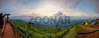 Panorama Phu Thap Berk Viewpoint