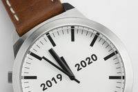 Watch with 2019-2020 text