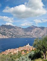 Urlaubsort Malcesine am Gardasee,Provinz Verona,Italien