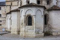 Church of Souillac, Lot, Occitanie, France
