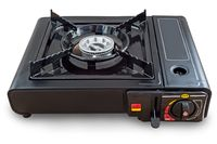 A small portable gas stove for cooking