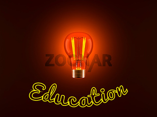 Light Bulb and Education