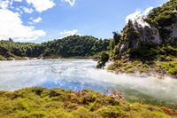 volcanic activities at waimangu