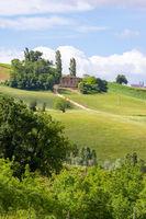 house near Camerino in Italy Marche