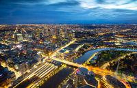 Melbourne Sunrise View