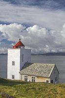 Agdenes fyr am Trondheimfjorden