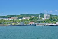 Stadthafen in Sassnitz,Insel Ruegen,Ostsee,MVP,Deutschland