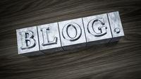 letterpress type word blog