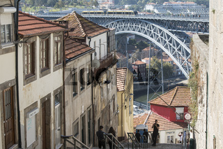 EUROPE PORTUGAL PORTO RIBEIRA OLD TOWN