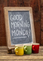 Good Morning Monday sign
