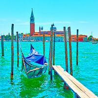 Venice on sunny summer day