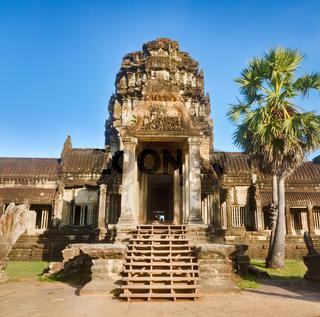 Angkor Wat  at sunset. Siem Reap. Cambodia.