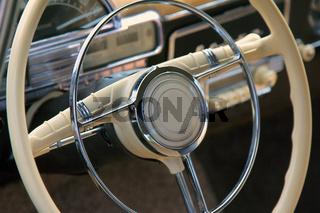 wheel of old car