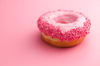 Sweet glazed donut.